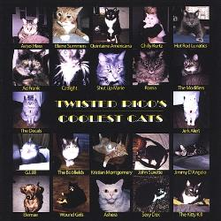 Twisted Rico's Coolest Cats CD Cover